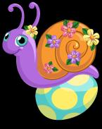 Egg dye snail single