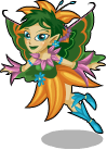 Forest fairy static