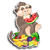 Goal lopburi monkey icon