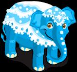 Blue elephant single