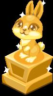 Bunny baby trophy