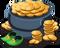 Huge pot of gold