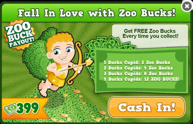 Bucks cupid modal