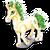 Goal bucks unicorn icon