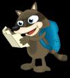 Backpacking raccoon an