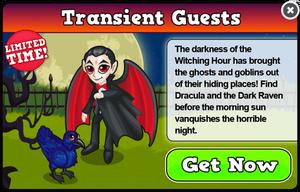 Dracula modal