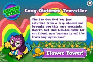 Far out owl modal