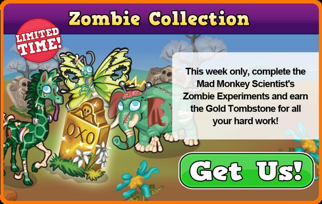 Zombie quest modal