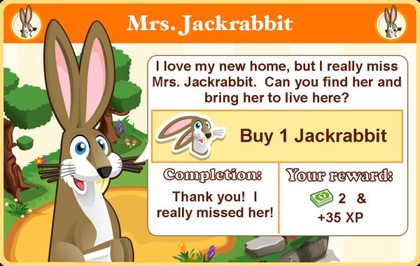 Jack rabbit goal2 modal