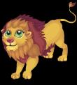 Barbary lion static
