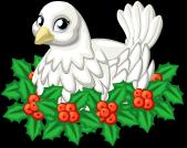 Christmas dove single