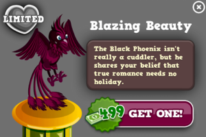 Black phoenix modal