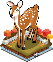 Autumn deer single