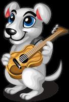 Guitar dog single