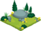 Porcupine cubby habitat
