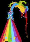 Rainbow dragon an