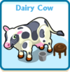 Dairy cow card