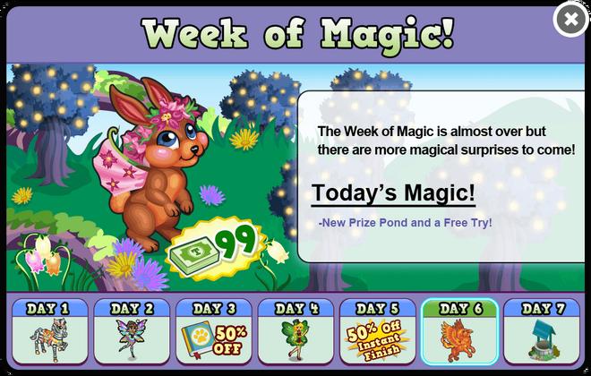 Fairy glen week6 modal