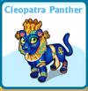 Cleopatra panther card