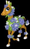 Hydrangea giraffe static