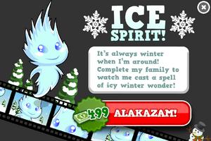 Ice spirit animators modal