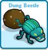 Dung beetle card