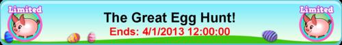 Goal easter egg pig title
