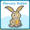 Mercury rabbit card