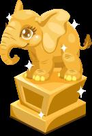 Elephant baby trophy