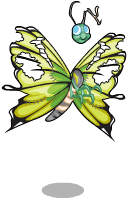 Zombie butterfly an
