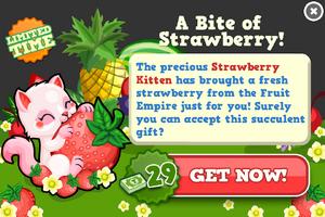 Strawberry kitten modal