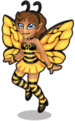 Honey bee fairy single