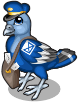 Mail man pigeon single