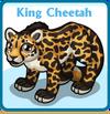 King cheetah card