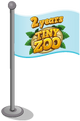 Two Years of Tiny Zoo Flag