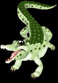 Dwarf crocodile static