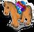 Goal steppe pony icon