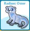 Radiant otter card