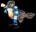 Scholarly raven static