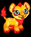 Cubby lion fire single
