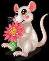 Daisy mouse single