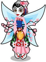 Geisha fairy single