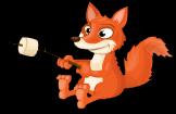 Marshmallow fox static
