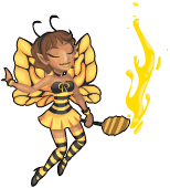 Honey bee fairy an