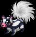 Hooded skunk single