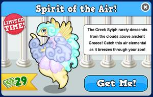 Greek sylph modal
