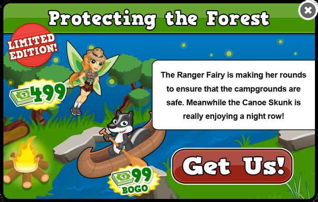 Ranger fairy modal