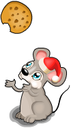 Christmas cookie rat an
