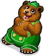Lederhosen bear single