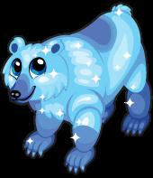 Glacier bear single